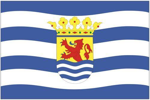Fahnen Aufkleber Sticker Niederlande - Zeeland