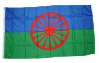 Fahne / Flagge Sinti & Roma 90 x 150 cm