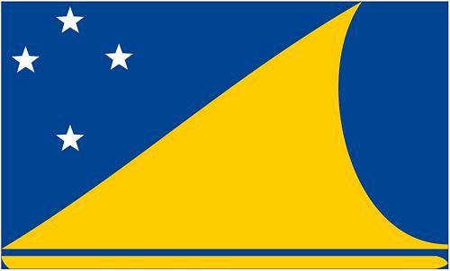Flagge / Fahne Tokelau Hissflagge 90 x 150 cm