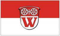 Fahne / Flagge Walluf 90 x 150 cm