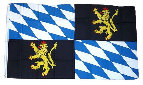 Fahne / Flagge Rheinische Pfalzgrafschaft 90 x 150 cm