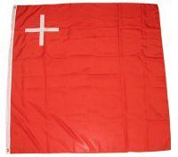Fahne / Flagge Schweiz - Schwyz 120 x 120 cm
