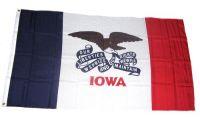 Fahne / Flagge USA - Iowa 90 x 150 cm