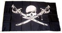 Fahne / Flagge Pirat Säbel & Dolch 90 x 150 cm