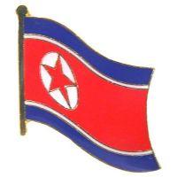 Flaggen Pin Nordkorea NEU Fahne Flagge Anstecknadel