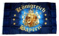 Fahne / Flagge Königreich Bayern Löwe 90 x 150 cm
