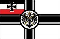 Fahnen Aufkleber Sticker Reichskriegsflagge