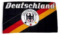 Fahne / Flagge Deutschland Fußball 9 90 x 150 cm
