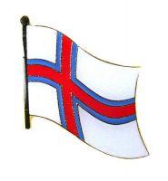 Flaggen Pin Färöer Inseln NEU Fahne Flagge Anstecknadel