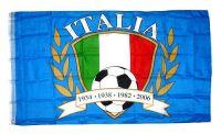 Fahne / Flagge Italien Schrift NEU 90 x 150 cm