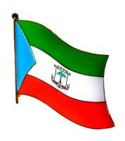 Fahnen Anstecker Pin Äquatorialguinea