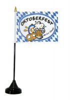 Tischfahne Bayern Oktoberfest NEU 11 x 16 cm Flagge Fahne