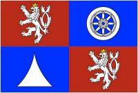 Fahne / Flagge Tschechien - Reichenberg 90 x 150 cm