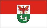 Fahne / Flagge Landkreis Oberhavel 90 x 150 cm