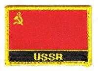 Fahnen Aufnäher UDSSR Schrift