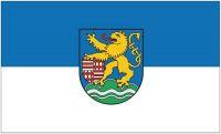 Fahne / Flagge Kyffhäuserkreis 90 x 150 cm