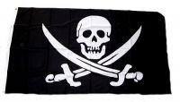 Fahne / Flagge Pirat Säbel 150 x 250 cm