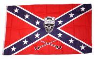 Fahne / Flagge Südstaaten - Ranger Skull 90 x 150 cm
