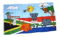 Fahne / Flagge Fußball Kinder WM Südafrika 90 x 150 cm