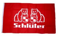 Fahne / Flagge Schlüter Logos 90 x 150 cm