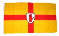 Fahne / Flagge Irland - Ulster 90 x 150 cm