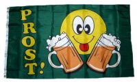 Fahne / Flagge Prost Smile Bier 90 x 150 cm