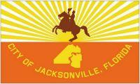 Fahne / Flagge USA - Jacksonville 90 x 150 cm