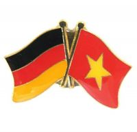 Fahnen Freundschaftspin Anstecker Vietnam