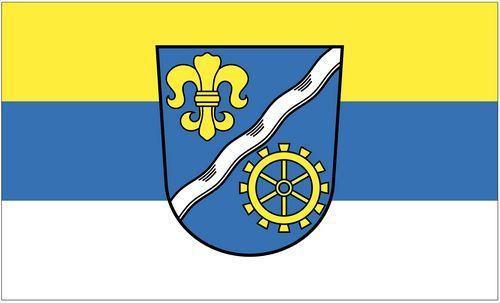 Fahne / Flagge Vöhringen 90 x 150 cm