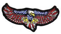 Aufnäher Patch USA breiter Adler