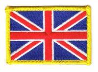 Fahnen Aufnäher Großbritannien