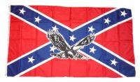 Fahne / Flagge Südstaaten - Adler 90 x 150 cm