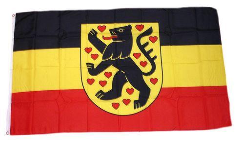 Fahne Landkreis Sonneberg Hissflagge 90 x 150 cm Flagge