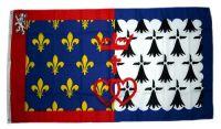 Fahne / Flagge Frankreich - Pays de la Loire 90 x 150 cm