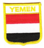Wappen Aufnäher Fahne Jemen