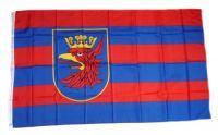 Fahne / Flagge Polen- Stettin 90 x 150 cm