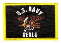 Fahnen Aufnäher US Navy Seals