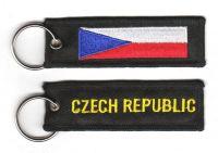Fahnen Schlüsselanhänger Tschechichische Republik
