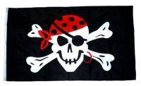 Fahne / Flagge Pirat One eyed Jack 90 x 150 cm