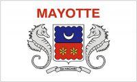 Flagge / Fahne Frankreich - Mayotte Hissflagge 90 x 150 cm