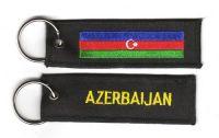 Fahnen Schlüsselanhänger Aserbaidschan