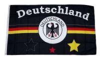 Fahne / Flagge Deutschland Fußball 7 90 x 150 cm