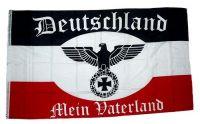 Fahne / Flagge Deutschland Mein Vaterland Deutsches Reich 90 x 150 cm