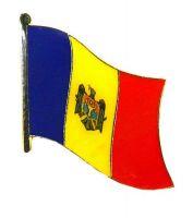 Flaggen Pin Moldawien NEU Fahne Flagge Anstecknadel