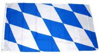 Fahne / Flagge Freistaat Bayern Raute 150 x 250 cm