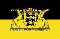 Fahnen Aufkleber Sticker Baden Württemberg Landessiegel
