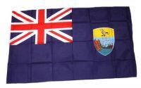 Fahne / Flagge St. Helena 30 x 45 cm