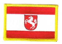 Fahnen Aufnäher Westfalen alt