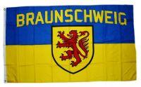 Fahne / Flagge Braunschweig Wappen Fan 90 x 150 cm