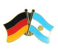 Fahnen Freundschaftspin Anstecker Argentinien